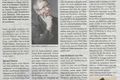 Presseartikel über Oliver Jungwirth.