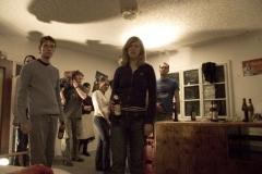 Behind The Scenes: Gruppenbild, Übung für die Actionszene.