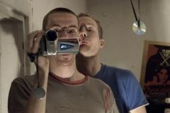 Behind The Scenes: Martin und Georg spielen mit der Kamera.