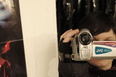 Behind The Scenes: Rita filming.