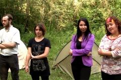 Movie Still, Valerian Hellenpart, Adrienn Petrovics, Yasmine Chetouani, Alexandra Ganhör.