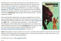 """Bericht über das Buch """"Sonnenglaster"""" auf Gschichtldrucker"""